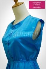 azalia dress blue 2b